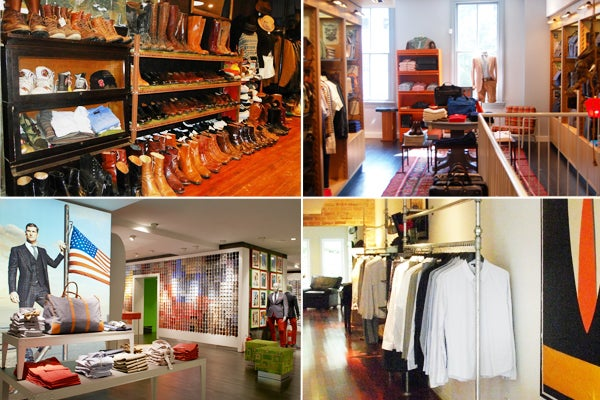 Clothes stores. Dc clothing stores