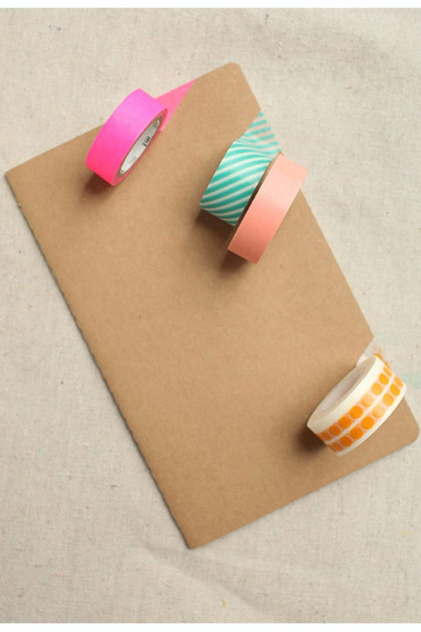 Tape It To The Limit: DIY This Washi Journal