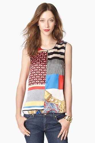 Juicy Couture Scarf Print Tank