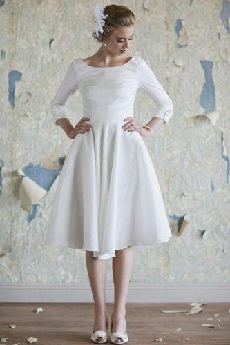 Audrey Tea Length Dress