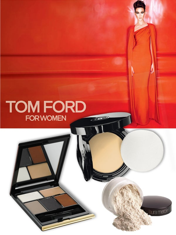 Photos: Courtesy of Tom Ford, Chanel. laura Mercier