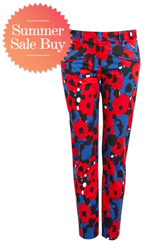 DKNY Eva Print Trouser