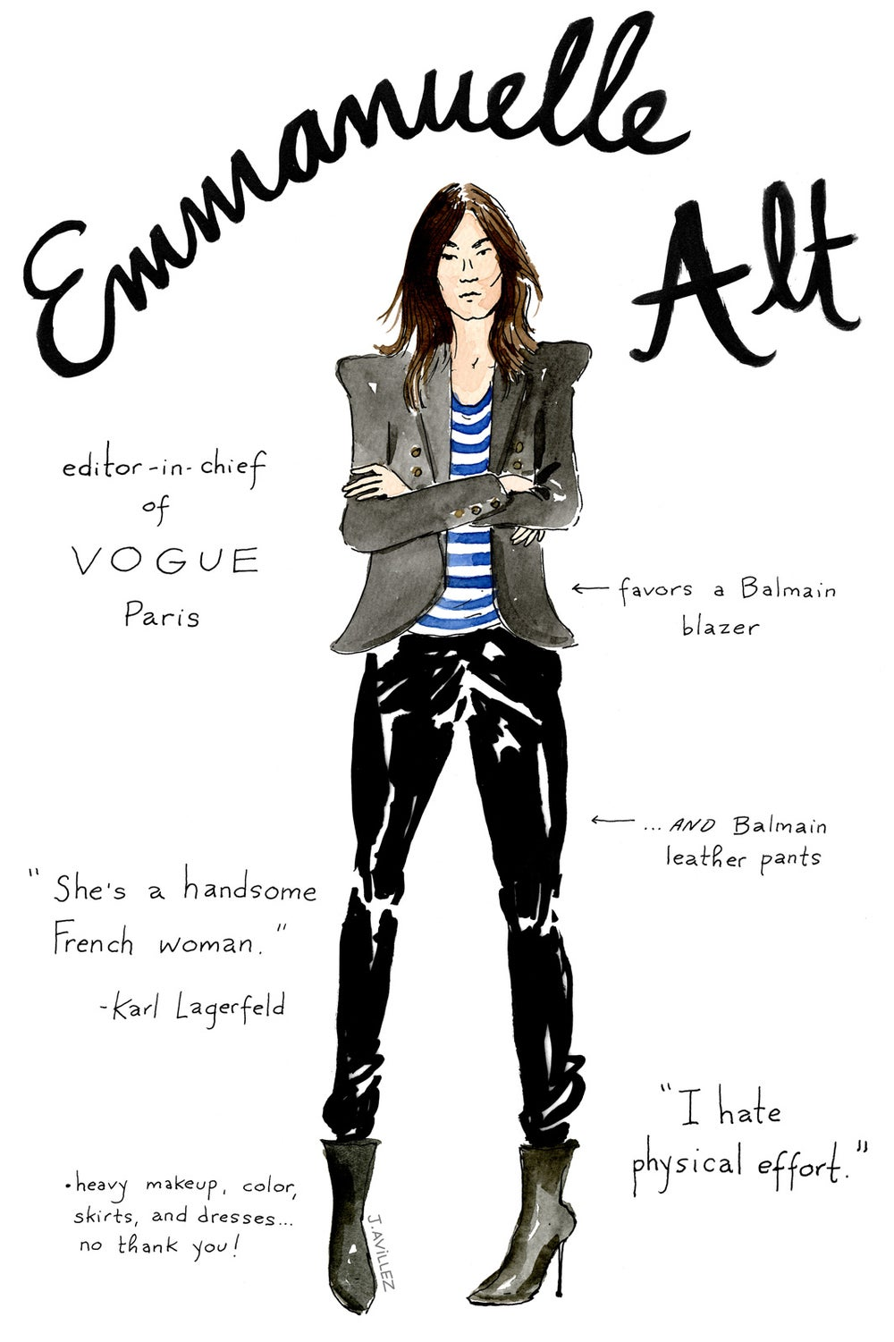 Emmanuelle Alt — editor-in-chief