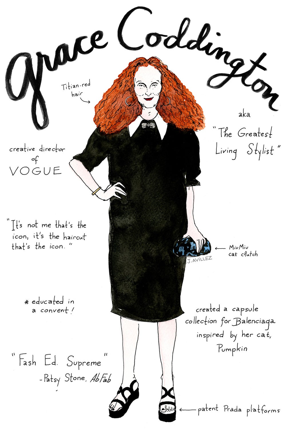 Grace Coddington — creative director