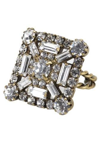 Elizabeth Cole Baguette Ring