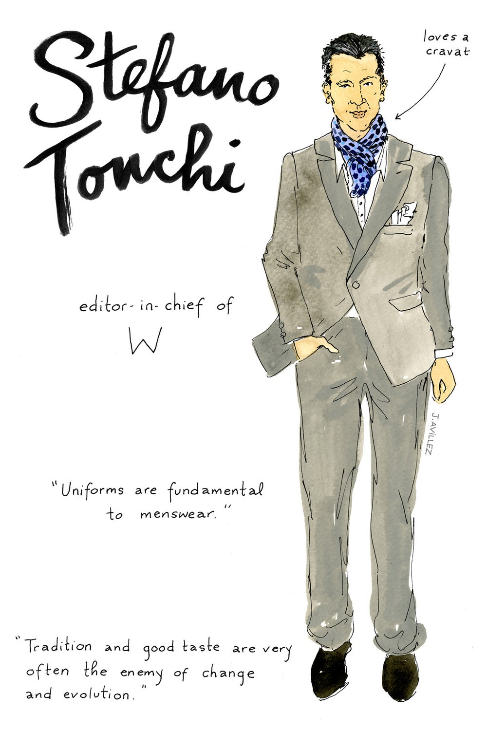 Stefano Tonchi — editor-in-chief
