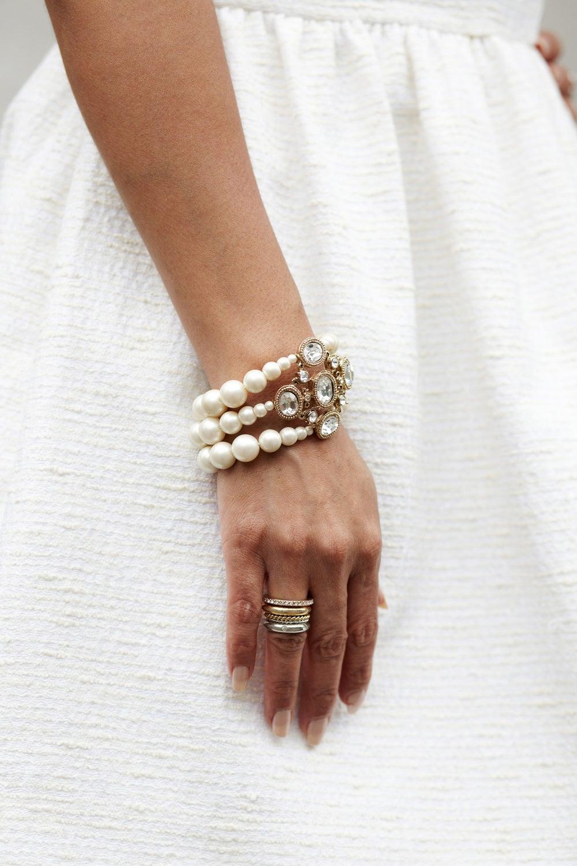 Arti's knockout bracelets.