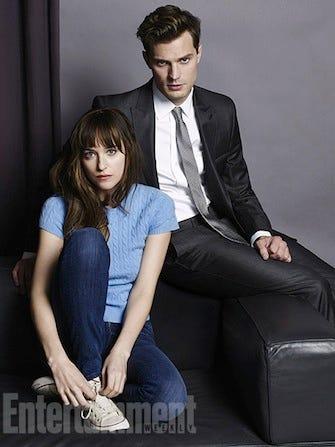 Fifty Shades Of Grey Movie Cast Photos Jamie Dornan