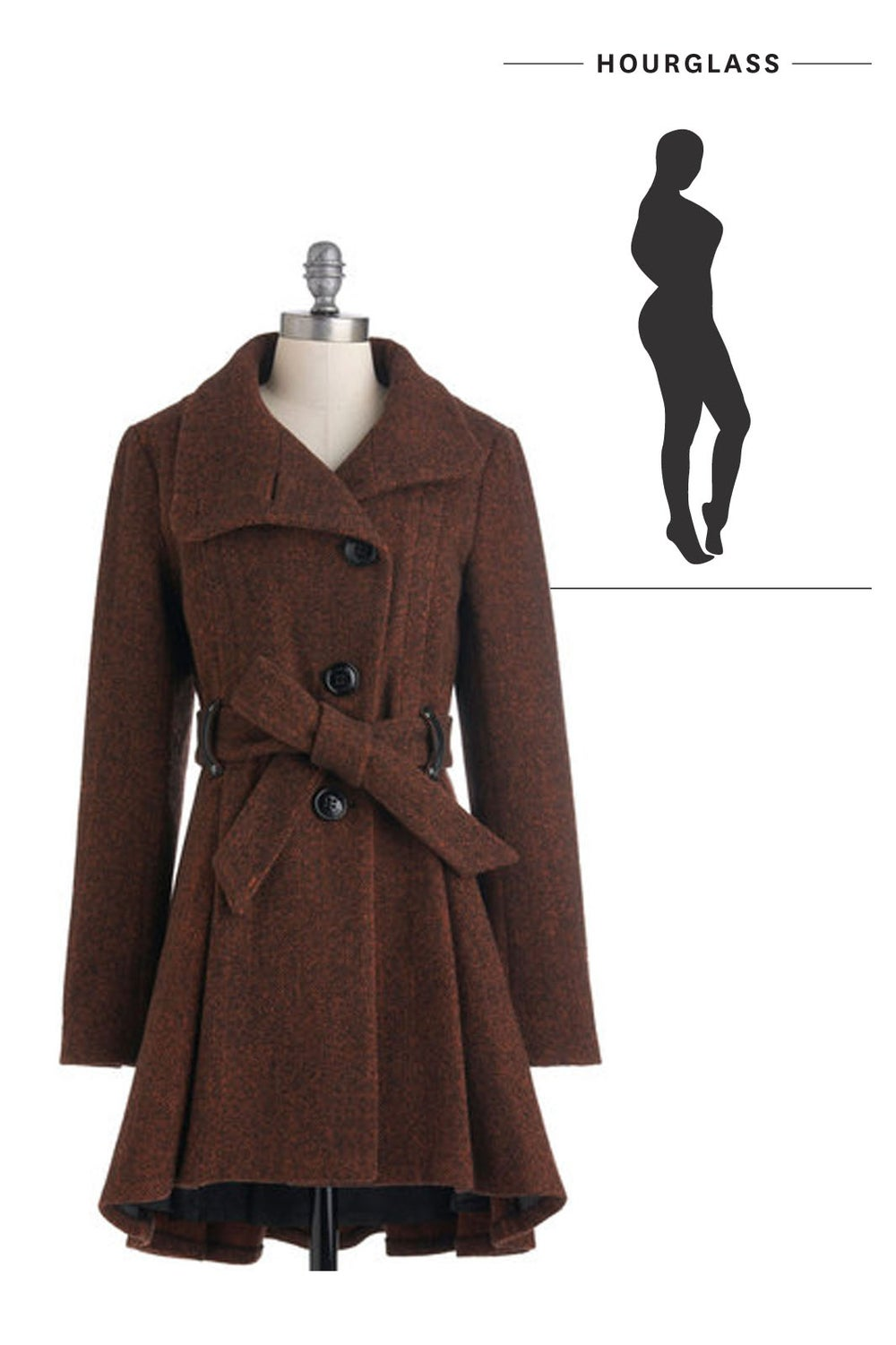 The Perfect Coat for Every Figure