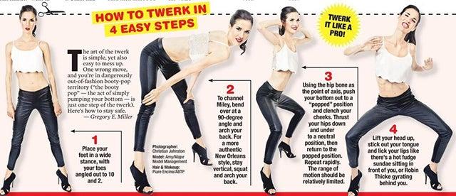 How To Twerk On A Boy Step By Step