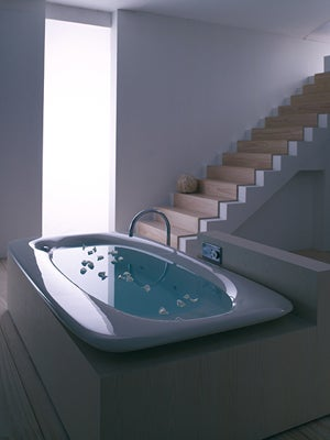 Two Kohler Vibr Acoustic Bath Tub