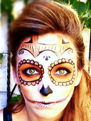 Day Of The Dead Makeup Diy - How-to-do-day-of-the-dead-makeup