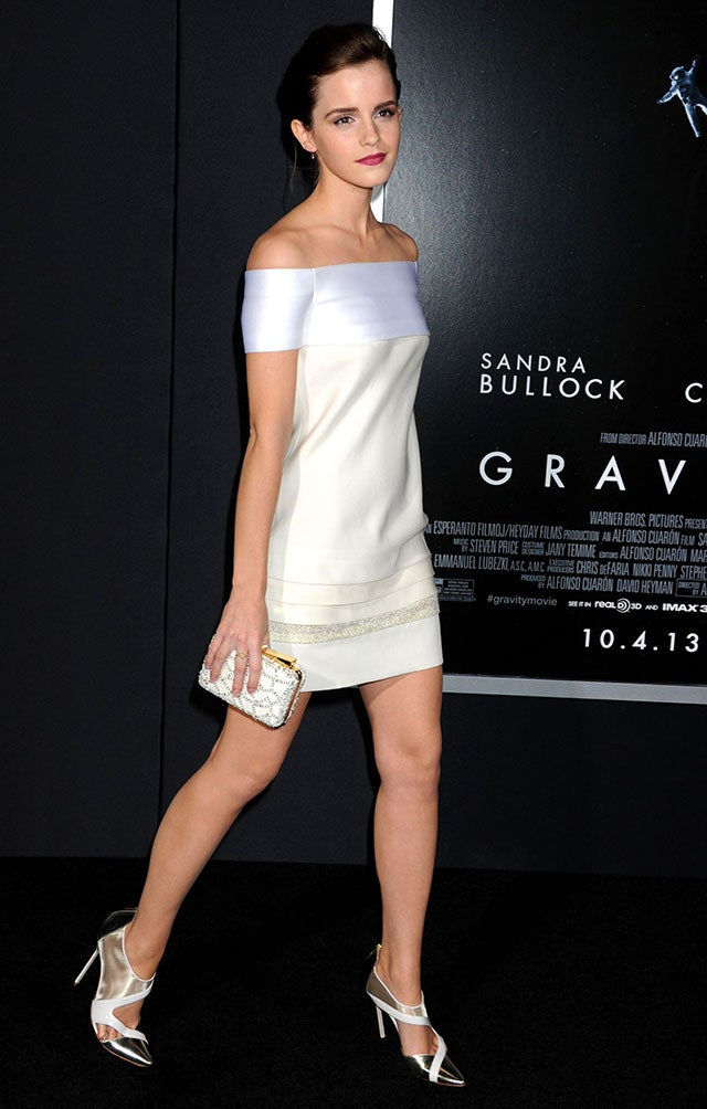 Emma Watson White Shoes Fake Photos