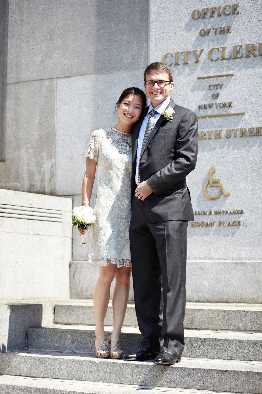 Lin Nie and Steve Jamison met at work.