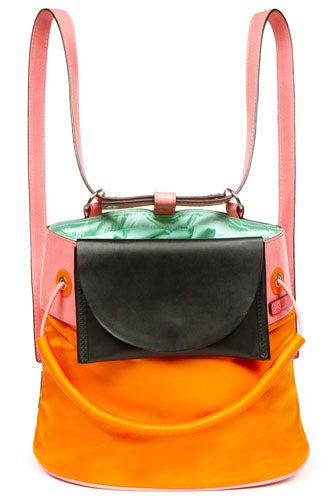 Kenzo Large Color-Block Backpack