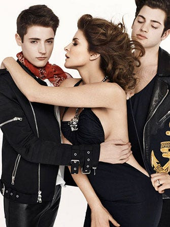 stephanie seymour harpers bazaar harry peter brant